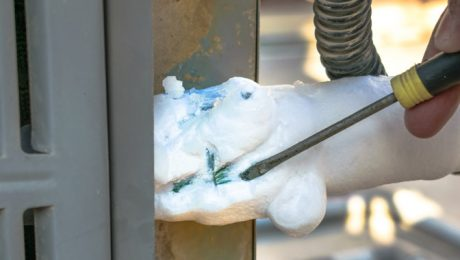 Call Martens Plumbing to repair your icy air conditioner